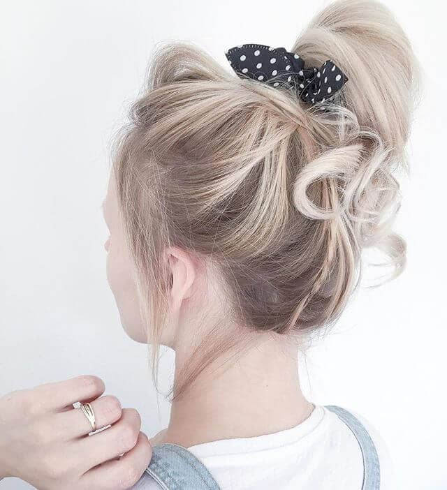 Flirty, Fun-Loving, Side Bow Ponytail Hairstyles
