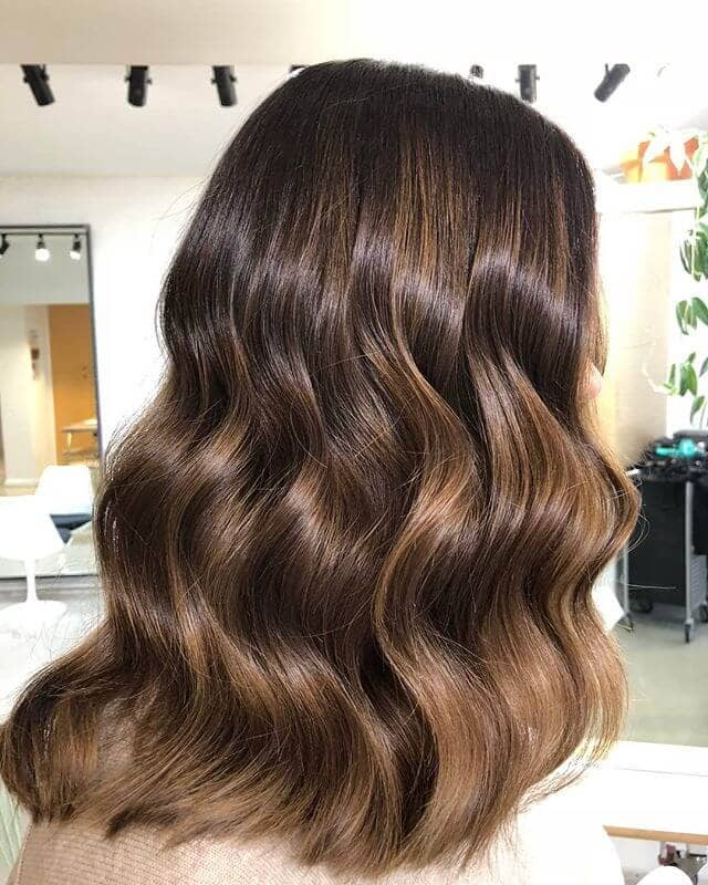Creamy Chocolate Natural Wave Hairstyle