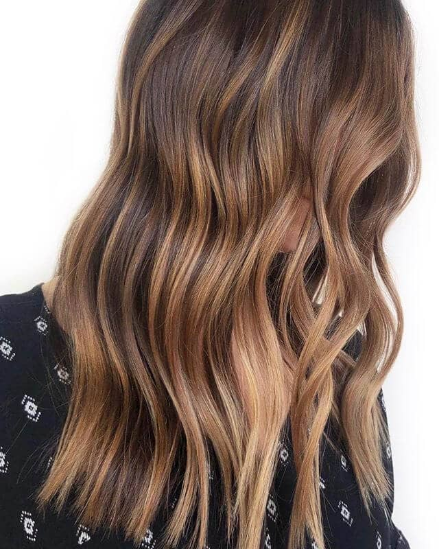 Captivating Flat Waves with Baby Highlights