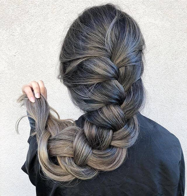 Natural Gray - Wise Woman Braid