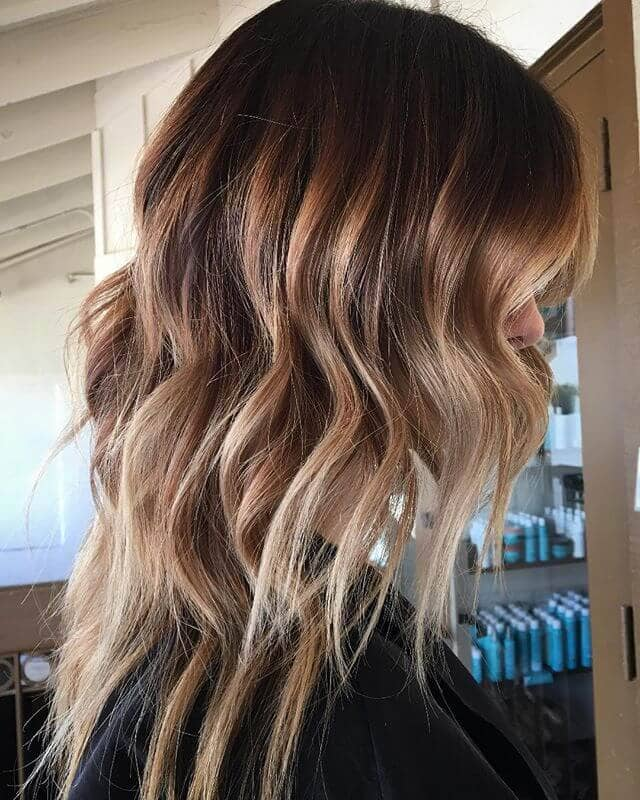 Subtle Ombre Fade with Highlights
