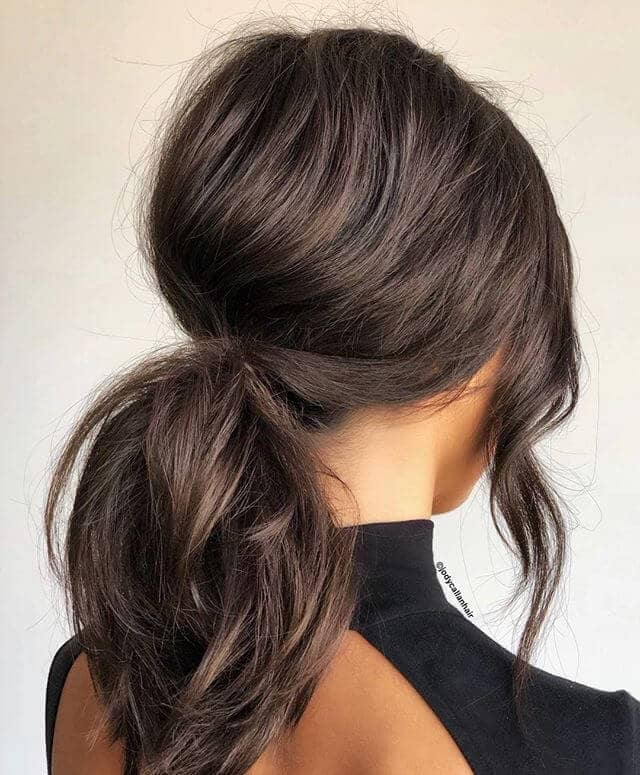 50 Best Ponytail Hairstyles To Update Your Updo In 2019