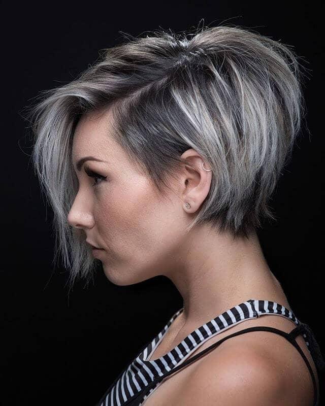 Heigh Ho, серебряная стрижка для тонких волос