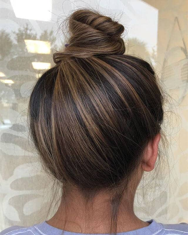 Best Bun For Busy Brunettes