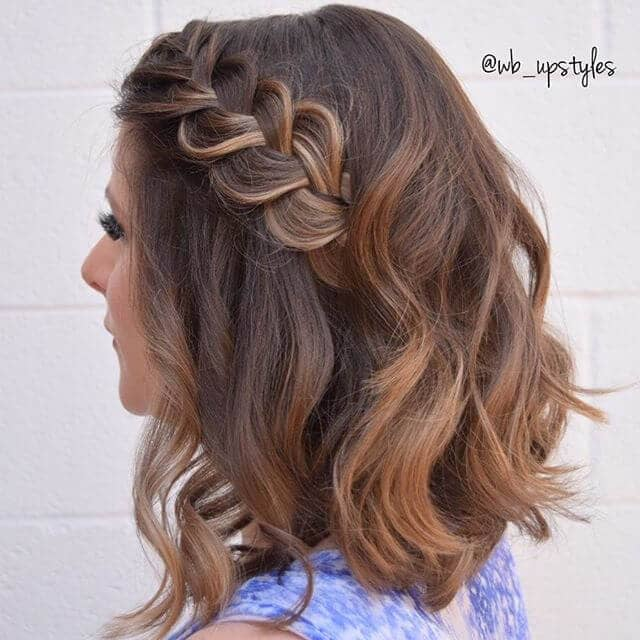 Beautifully Braided Long Bob