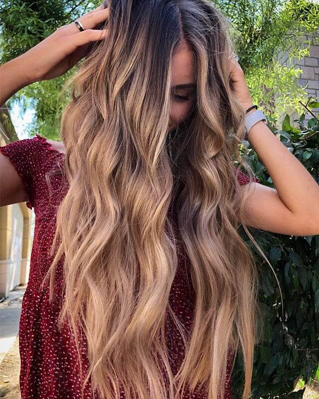 Blonde Boho Bombshell Natural Color