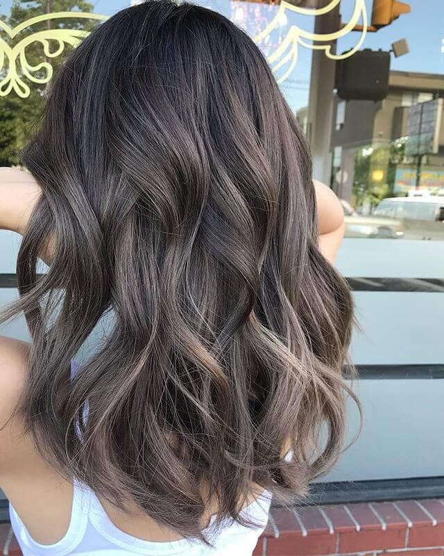 Smooth And Silky Natural Dark Hair