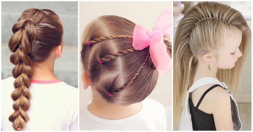 50 Pretty Perfect Cute Hairstyles for Little Girls to Show Off Their ...