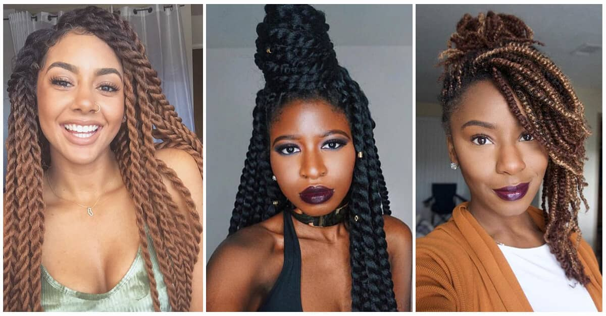 50 Amazing Kinky Twist Hairtyle Ideas You Can T Live Without In 2019