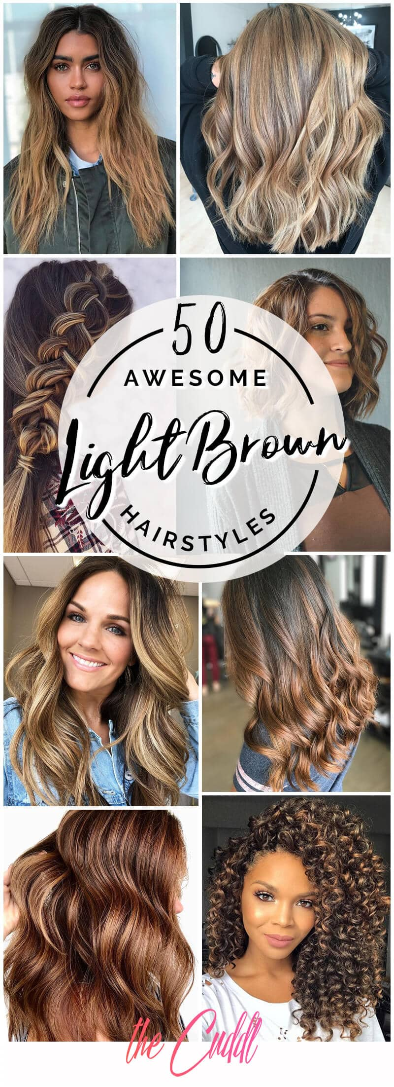 50 Gorgeous Light Brown Hairstyle Ideas To Rock A Hot New Look In 2019