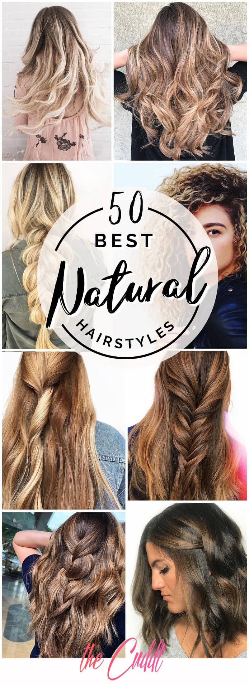 Best 50 Natural Hairstyle Ideas You'll Flip For