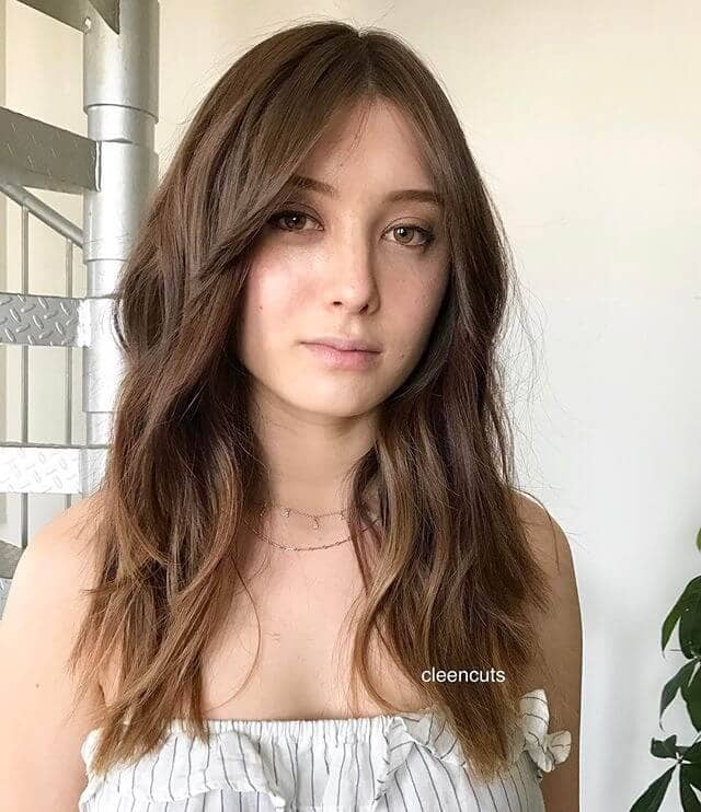 Simple Straight Bangs for Work and School