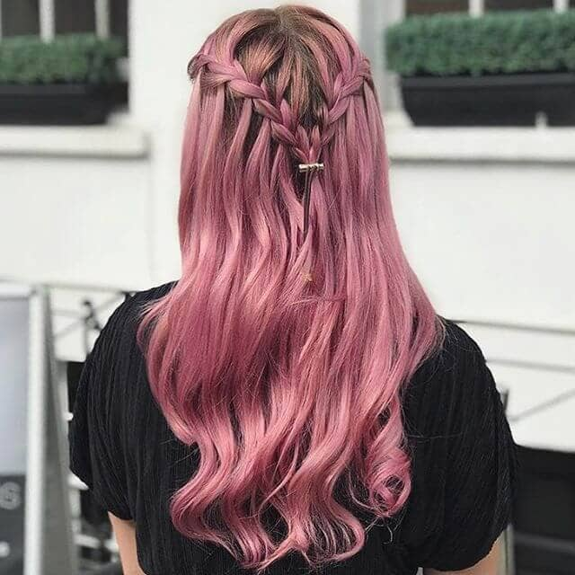 Awesome Orchid Tone Pink Hair