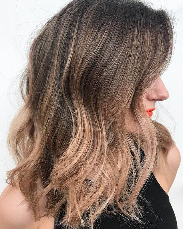 Easy Strawberry Blonde Balayage Основные моменты