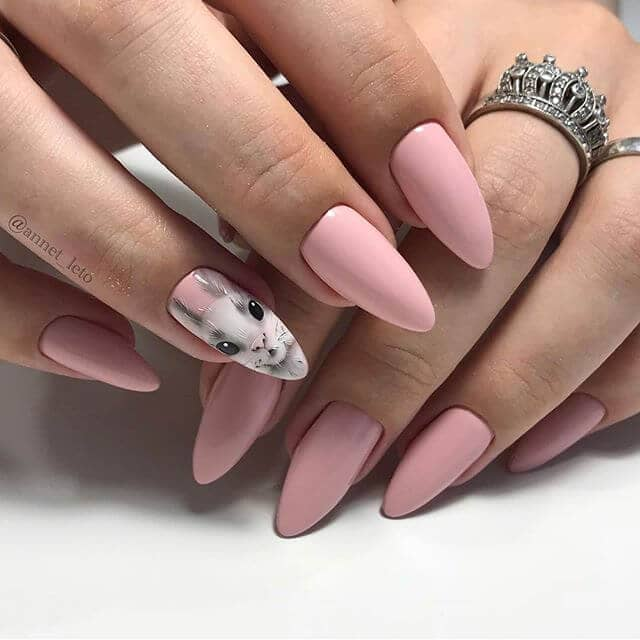 Happy Easter Any Time Nail Design