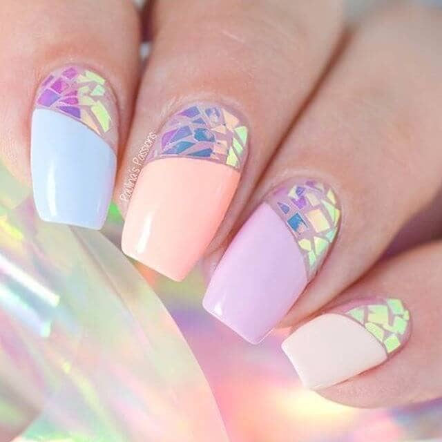 Pretty with Iridescent and Pastels