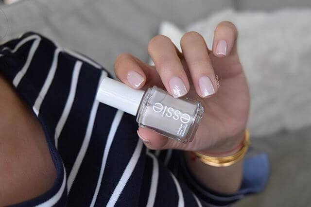 A Sheer, Low Maintenance Manicure