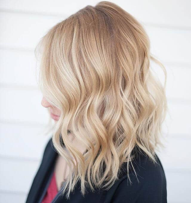 Cute Long Bob with Loose Waves