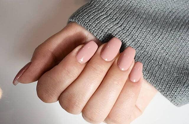 Simple and Elegant Easy Nude Nail Design Ideas