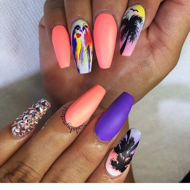 Tropico Tropical Extravaganza Beautiful Nails
