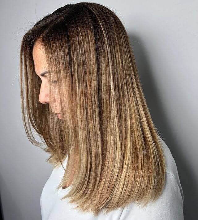 50 Best and Flattering Brown Hair with Blonde Highlights for