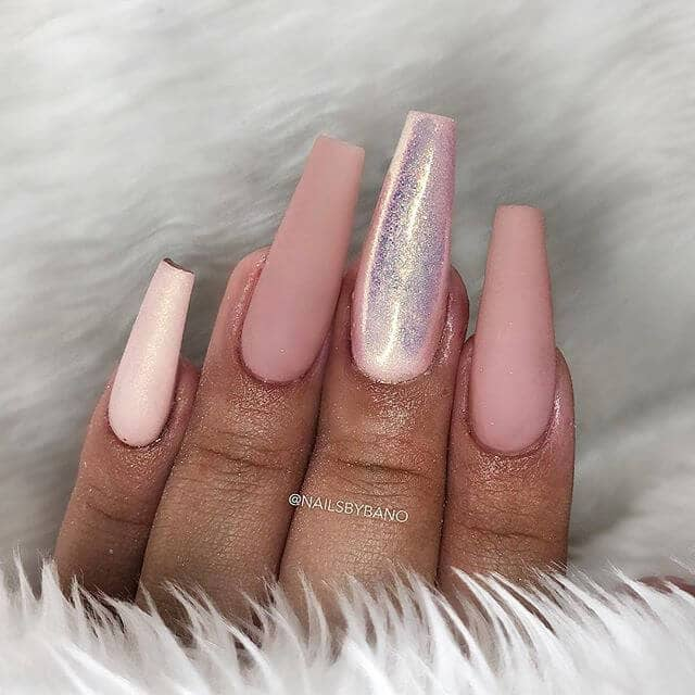 50 Unique Matte Nail Ideas to Elevate your Look in 2020