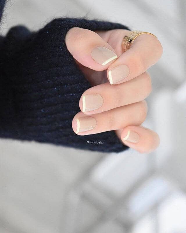 A French Manicure with Endless Possibilities