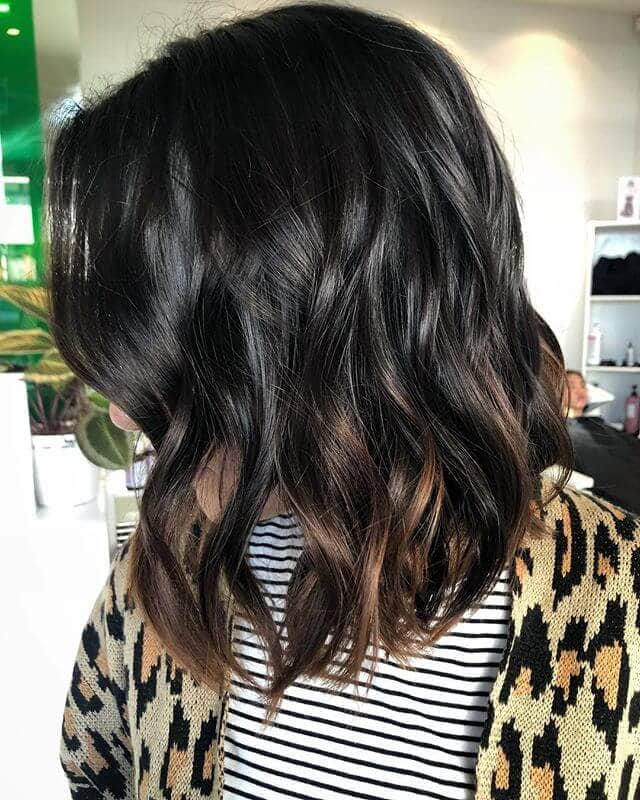 Cute Curly Long Bob