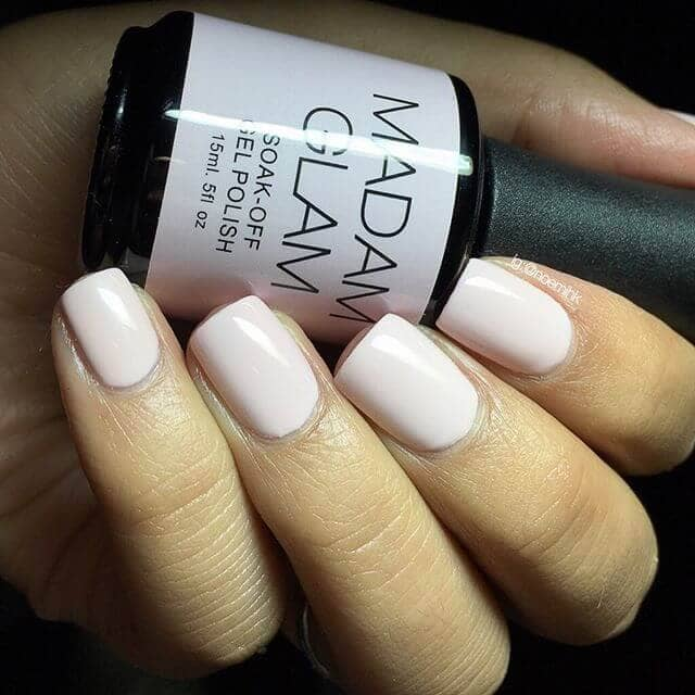 Ultimate Classic Pink Matte Natural Nails