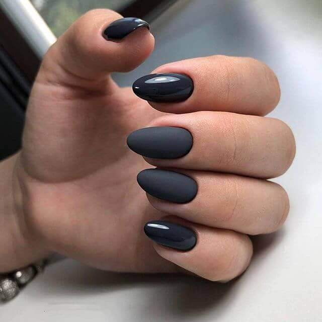 Adding Intrigue with Matte Smoky Nails
