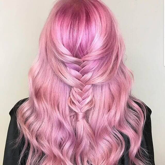 Pretty and Subtle Pink Long Style