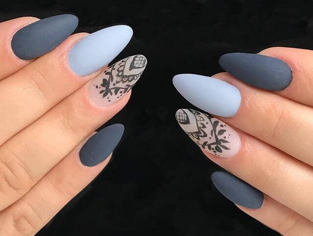 Sweet and Dreamy Lacey Nail Art