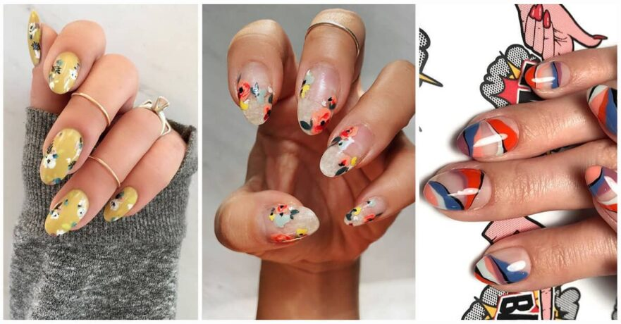 50 Catchy and Appealing Cute Nails for Fun-loving Women