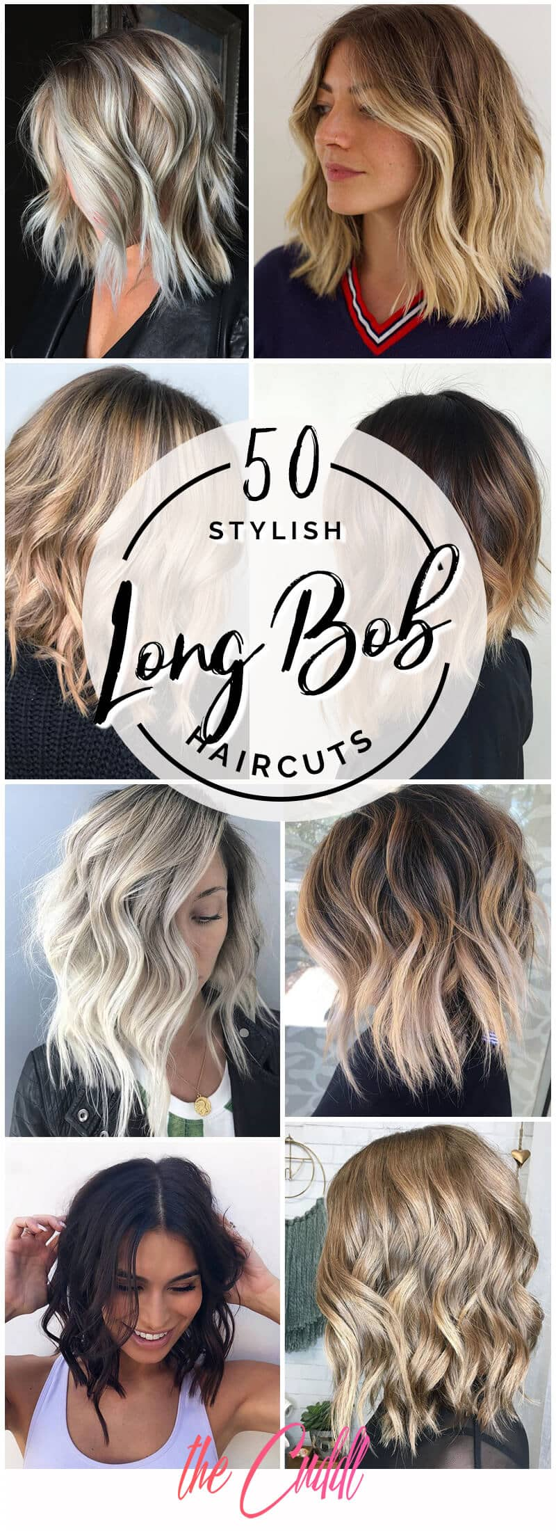 50 Stylish Long Bob Haircuts We Adore