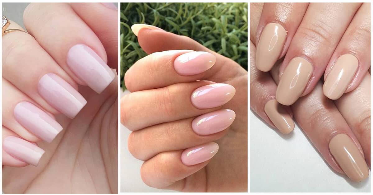 50 Best Natural Nail Ideas And Designs Anyone Can Do From Home