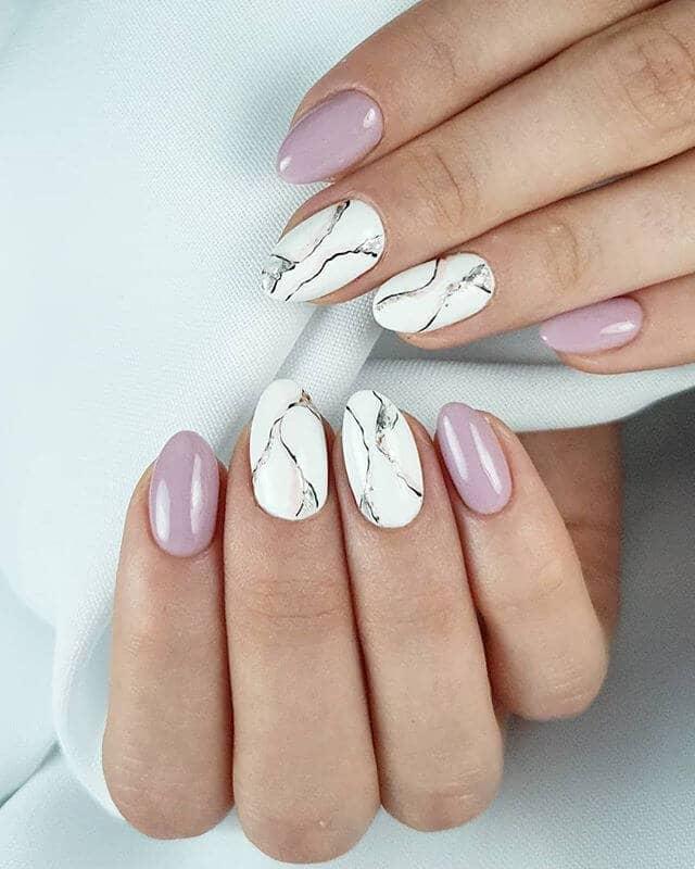 Pretty Almond Ballerina Pink Manicure