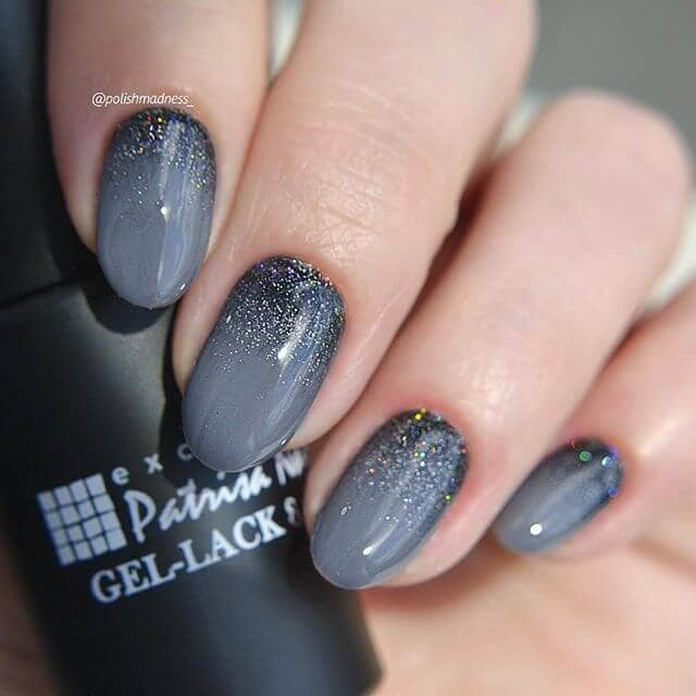 Ombre Nails Have Us Loving Winter Skies