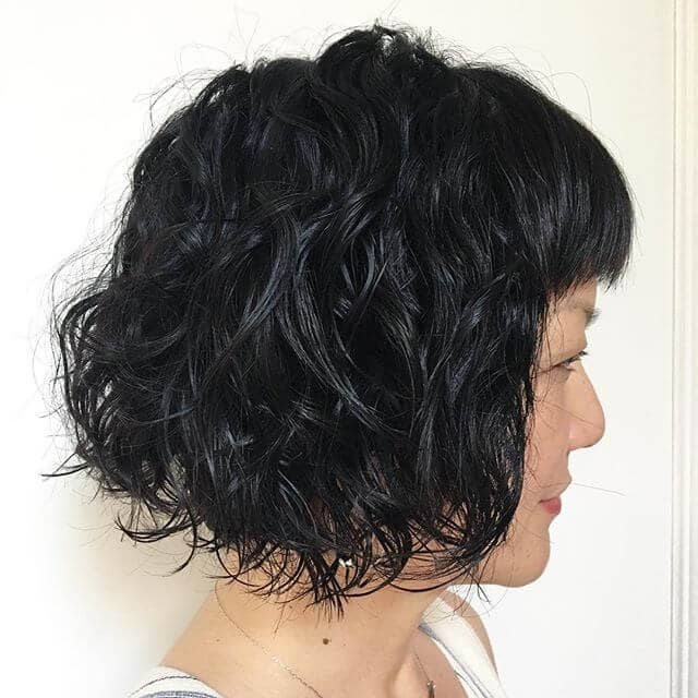 Cool Subtle Waves for Short Hair