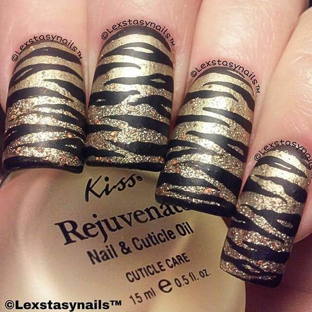 Fashion Forward Animal Print Nails