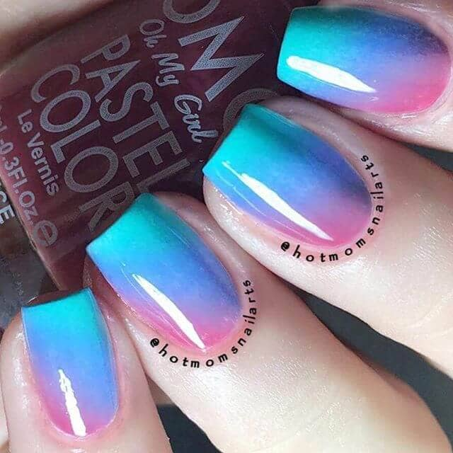 50 Incredible Ombre Nail Designs Ideas That Will Look Amazing in 2019