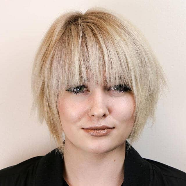 Beautiful and Textured Short Hair