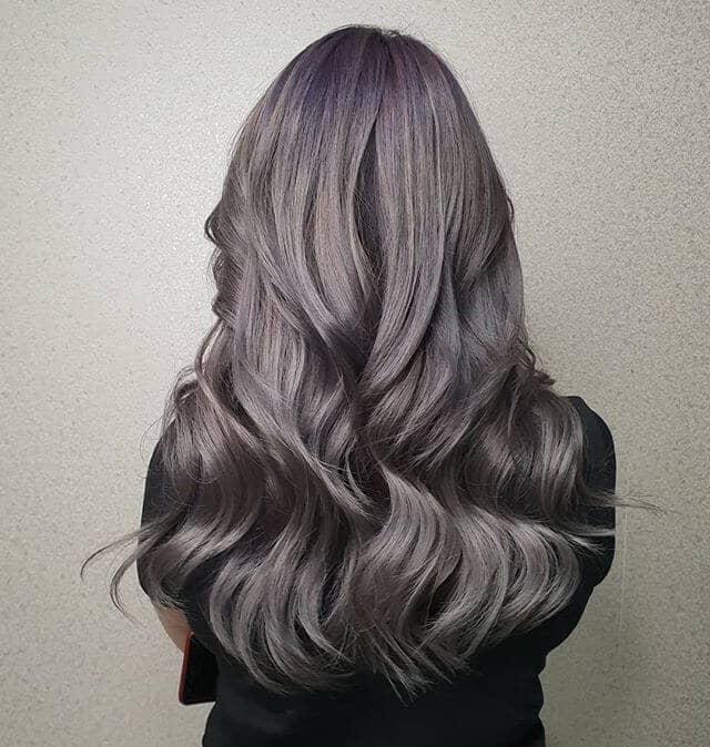 Шелковистые атласные волны для длинных волос