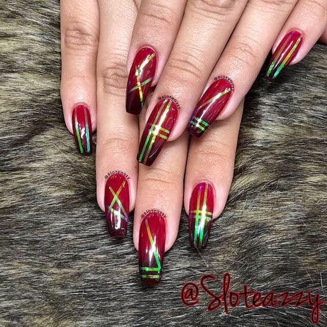 Contemporary Nail Art Holiday Style