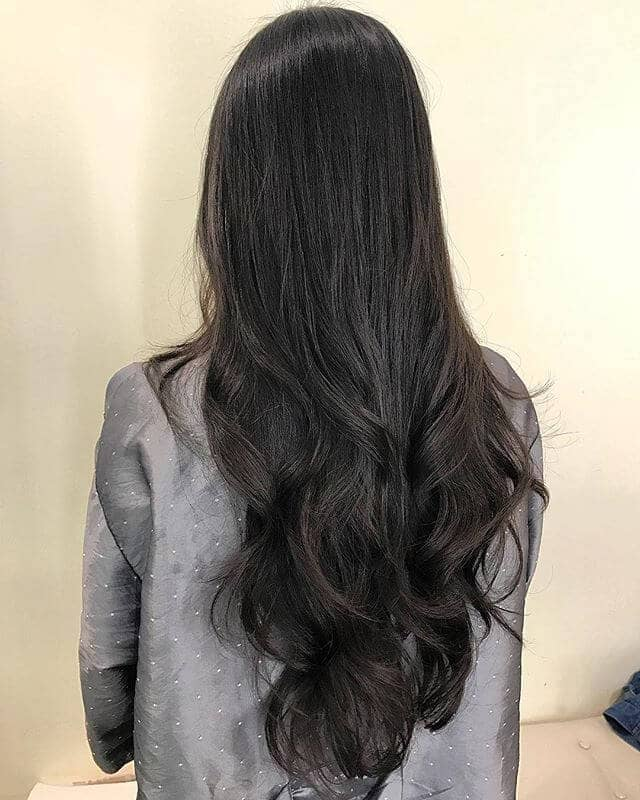Loose Curls for Extra Long Hair
