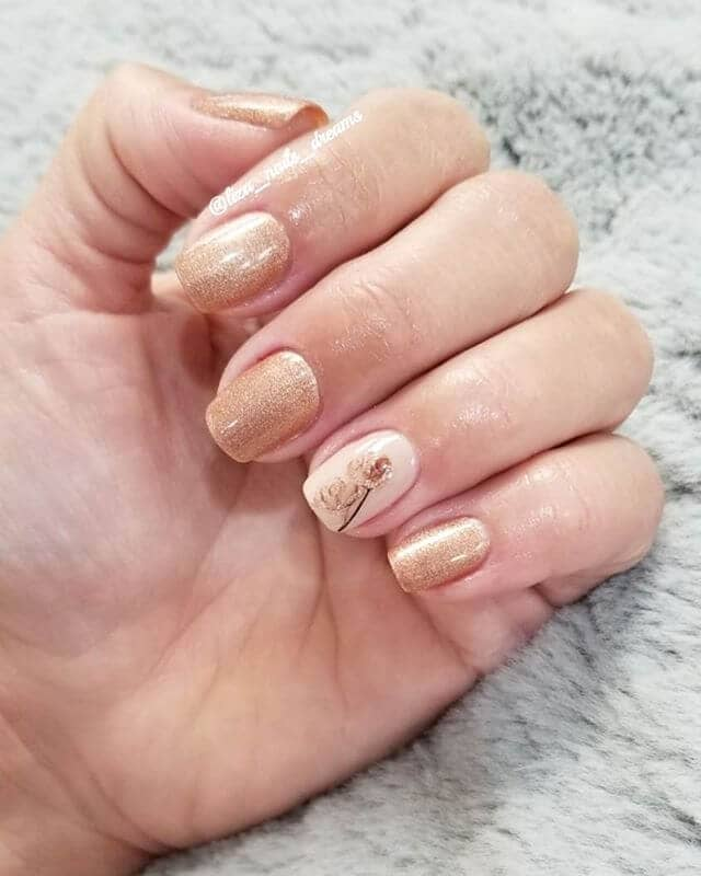 A Subtle Romantic Touch of Gold