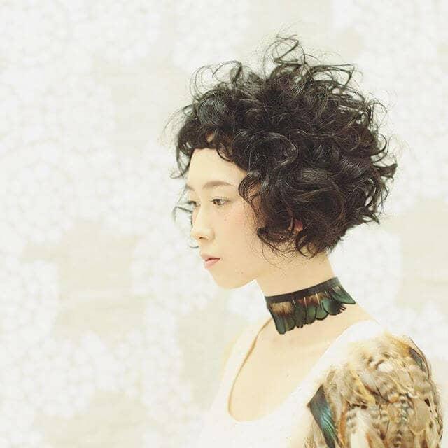 Короткие и отважные пермские волосы