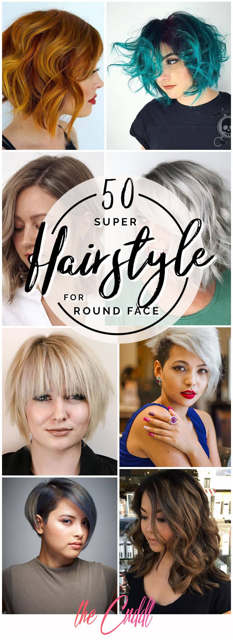 50 Fabulous Hairstyles for Round Faces to Upgrade Your Style