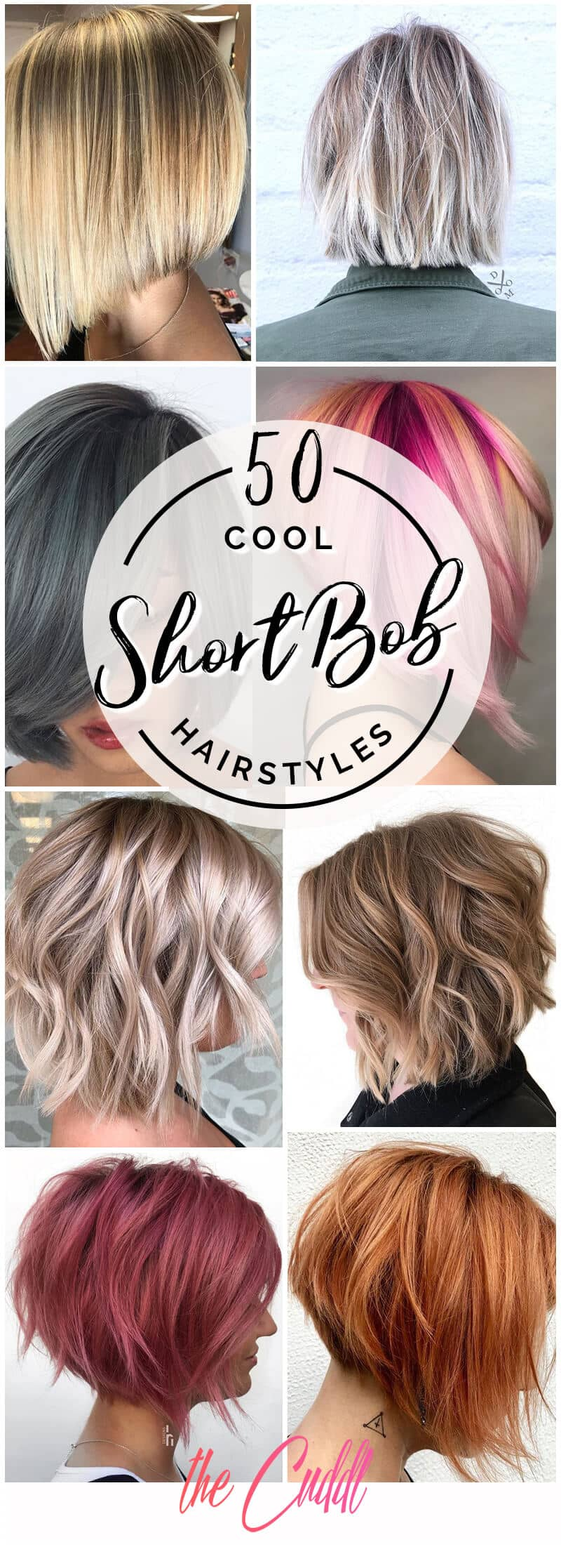 The 50 Most Eye-Catching Short Bob Haircuts That Will Make You Stand Out