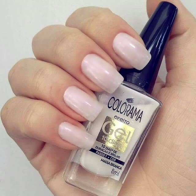 Nearly Nude Opaque Square Tip Nails