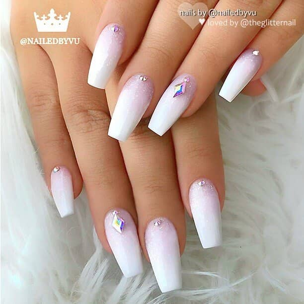 50 Fun And Fashionable White Nail Design Ideas For Any Occasion In 2019